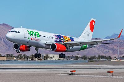 Viva Aerobus Airbus A320-232 XA-VAP 3-18-18
