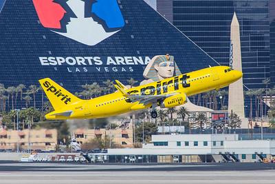 Spirit Airlines Airbus A320-232 N621NK 3-28-18