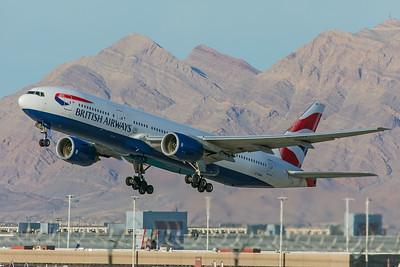 British Airways Boeing 777-236(ER) G-YMMS 3-30-18