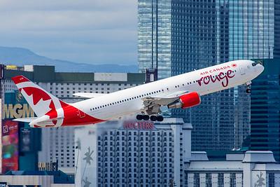 Air Canada Rouge Boeing 767-375(ER) C-FXCA 3-11-18