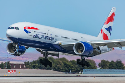 British Airways Boeing 777-236(ER) G-YMMS 4-13-18