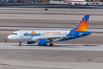 Allegiant Air Airbus A319-112 N306NV 3-12-18