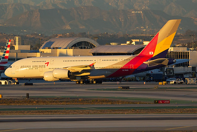 Asiana Airlines Airbus A380-841 HL7626 11-2-16 2