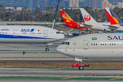 Saudi Arabian Airlines Boeing 777-3FG(ER) HZ-AK39 12-18-17