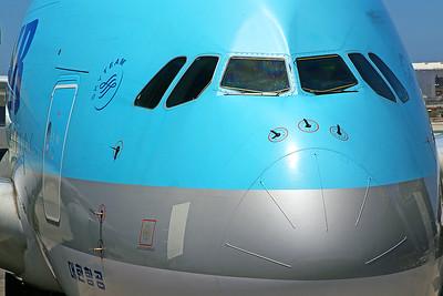 Korean Air Airbus A380-861 HL7612 6-14-17