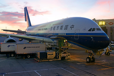 China Southern Airlines Airbus A380-841 B-6140 4-25-17 2