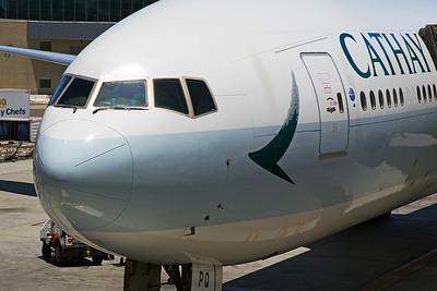 Cathay Pacific Boeing 777-367ER B-KPQ 6-14-17