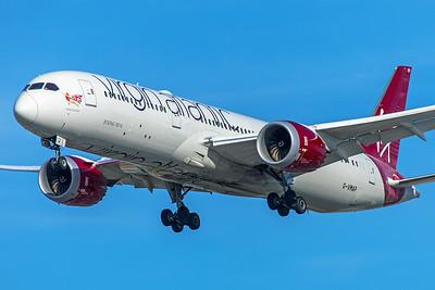 Virgin Atlantic Airways Boeing 787-9 G-VMAP 12-18-17