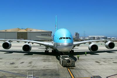 Korean Air Airbus A380-861 HL7612 6-14-17 2