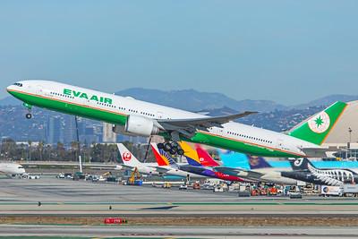 EVA Airways Boeing 777-35E(ER) B-16706 12-18-17