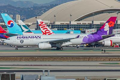 Hawaiian Airlines Airbus A330-243 N392HA 12-18-17