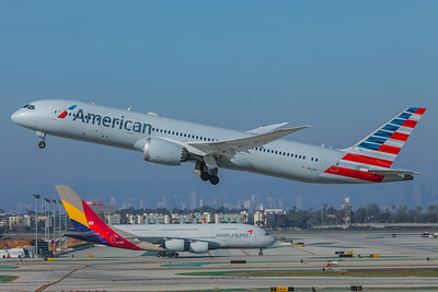 American Airlines Boeing 787-9 N821AN 2-9-18