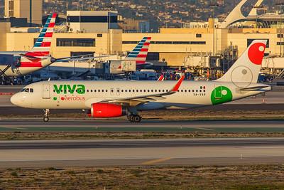Viva Aerobus Airbus A320-232 XA-VAR 1-31-18
