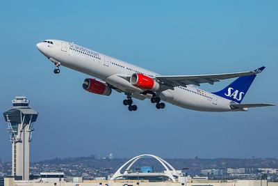 SAS Scandinavian Airlines Airbus A330-343 LN-RKT 2-9-18