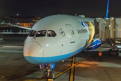 Xiamen Airlines Boeing 787-9 B-7836 1-31-18