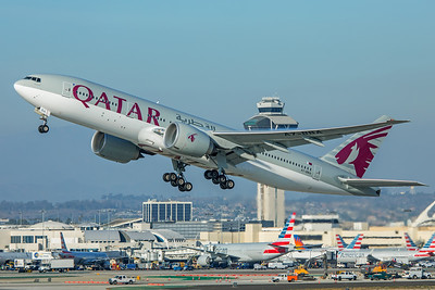 Qatar Airways Boeing 777-2DZ(LR) A7-BBA 2-9-18
