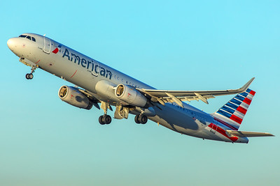 American Airlines Airbus A321-231 N117AN 1-31-18
