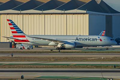 American Airlines Boeing 787-9 N829AN 1-31-18