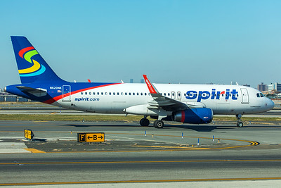 Spirit Airlines Airbus A320-232 N620NK 11-29-17