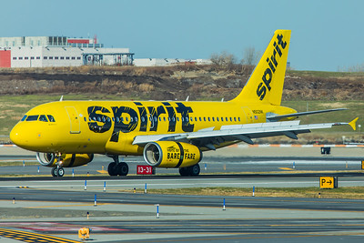 Spirit Airlines Airbus A319-132 N502NK 11-29-17