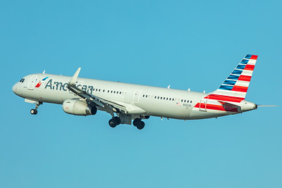American Airlines Airbus A321-231 N162AA 11-29-17
