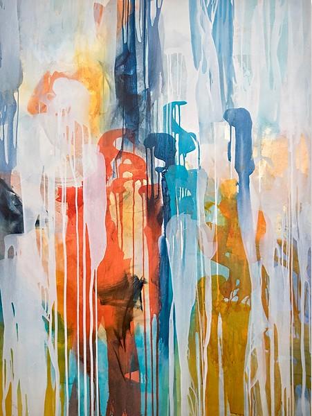 Dreamweaver I-Rei, 48x36 on canvas