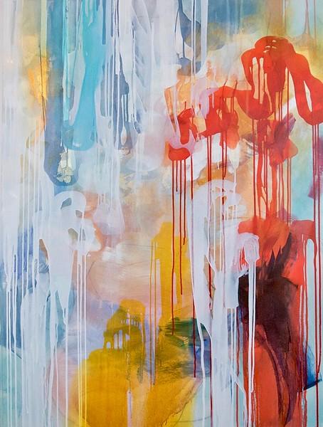 Dreamweaver II-Rei, 48x36 on canvas