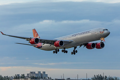 Virgin Atlantic Airways Airbus A340-642 G-VFIZ 11-28-17