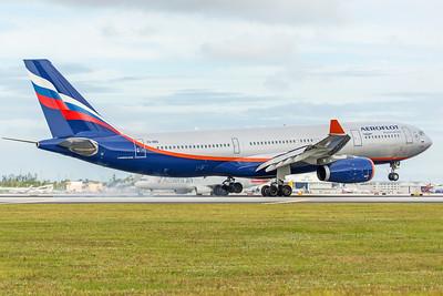 Aeroflot Airbus A330-243 VQ-BBG 11-28-17 2