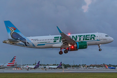 Frontier Airlines Airbus A320-251N N309FR 11-28-17