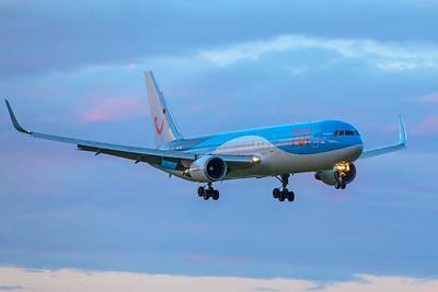 TUI Airlines Boeing 767-304(ER) OO-JNL 11-28-17