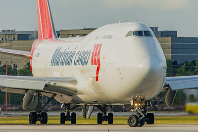 Martinair Boeing 747-412(BCF) PH-MPS 11-28-17 2