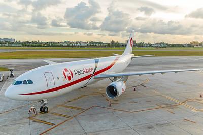 AeroUnion Airbus A300B4-605R(F) XA-UYR 11-28-17 2