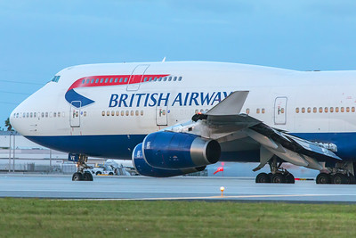 British Airways Boeing 747-436 G-CIVE 11-28-17 2