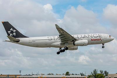 Avianca Airbus A330-243 N342AV 9-4-18