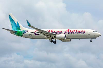 Caribbean Airlines Boeing 737-8Q8 9Y-GEO 9-4-18