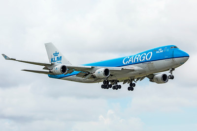 KLM Royal Dutch Airlines Cargo Boeing 747-406F(ER) PH-CKB 9-4-18