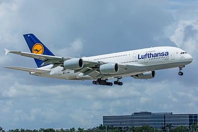 Lufthansa Airbus A380-841 D-AIMK 9-4-18 2