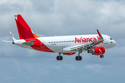 Avianca Airbus A319-115 N723AV 9-4-18