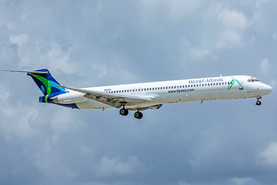 World Atlantic Airlines McDonnell Douglas MD-83 N805WA 9-4-18