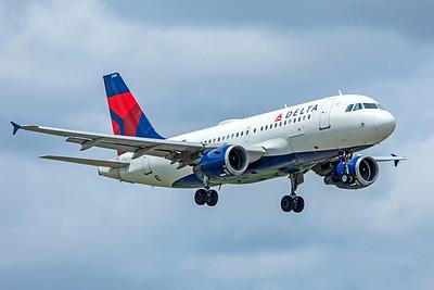 Delta Air Lines Airbus A319-114 N368NB 9-4-18