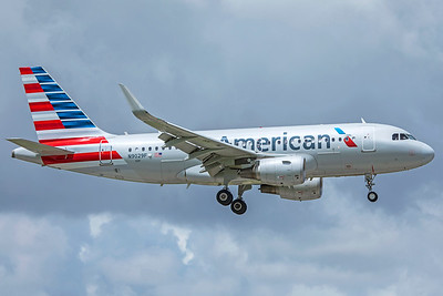 American Airlines Airbus A319-115 N9029F 9-4-18