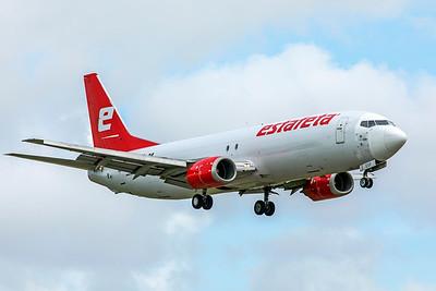 Estafeta Carga Aerea Boeing 737-490(SF) XA-ESF 9-4-18