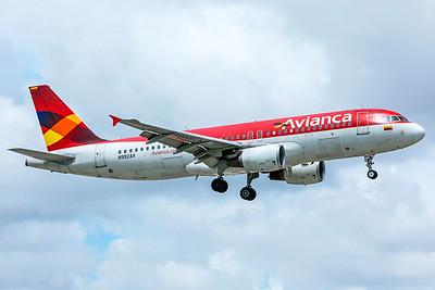Avianca Airbus A320-214 N992AV 9-4-18