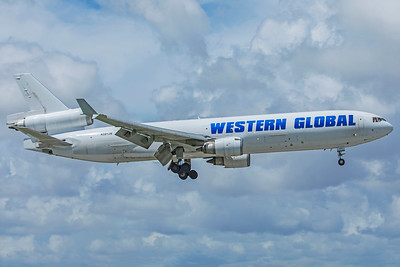 Western Global Airlines McDonnell Douglas MD-11F N581JN 9-4-18