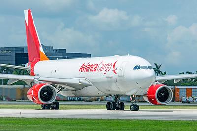 Avianca Cargo Airbus A330-243F N334QT 9-4-18