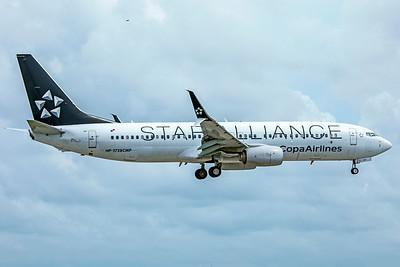 Copa Airlines Boeing 737-86N HP-1728CMP 9-4-18