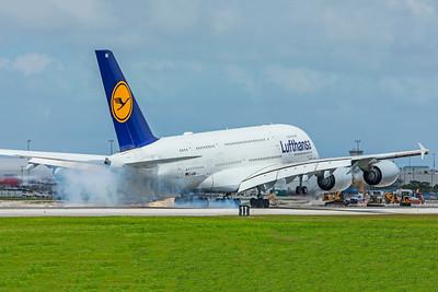 Lufthansa Airbus A380-841 D-AIMK 9-4-18
