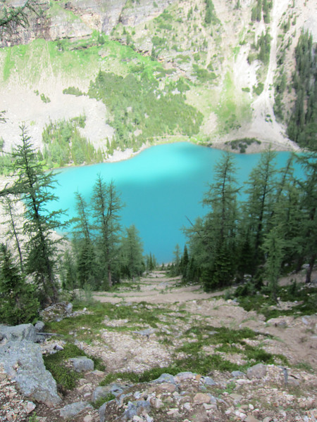 Lake Agnes - Big Beehive hike
