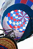 Hot Air Balloon Launching at Statesville Balloon Festival, Statesville NC
